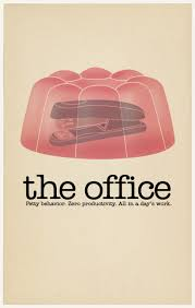 the office poster. The Office Minimalist Poster
