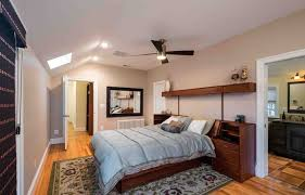 master bedroom with bathroom and walk in closet. Designer Sarah Wolf Reconfigured An Alexandria Couple\u0027s Master Bedroom Suite To Create A More Functional Floor With Bathroom And Walk In Closet O