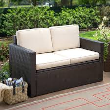 Outdoor Wood Swinging Loveseat Patio Chair Replacement Cushions