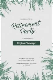 Free Retirement Flyer Templates Retirement Flyer Ohye Mcpgroup Co