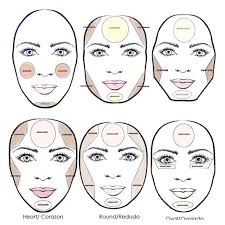 makeup for a round face shape middot photo not mine credits to owner diffe need for