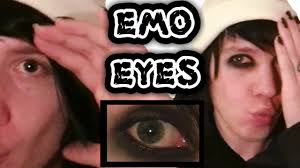 emo eyeliner tutorial how to get perfect black emo eyes andy the simple