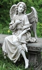angel garden statue. 12\ angel garden statue i