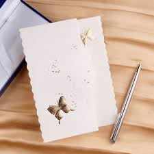 erfly wedding invitation cards