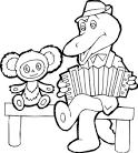 Раскраска детская распечатать из мультиков