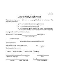 self employment letter template debt validation letter template images reader written verification of employment sle employment