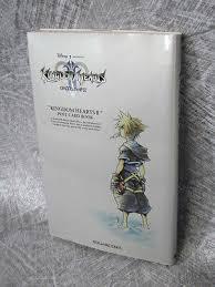 Kingdom Hearts Ii Postcard Book Art Illustration Ps2 Oop Se95