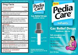 Pediacare Dosage Chart Infants Gas Relief Acetaminophen