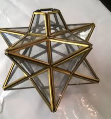 star shaped lighting. Star Shaped Glass Light Shade Ceiling Lighting S