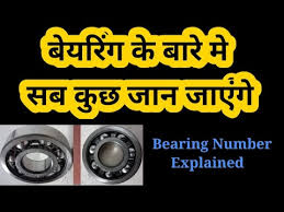 Bearing Clearance Chart Pdf Bearing Number Explained Designation