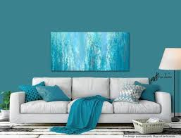 abstract painting canvas art print gray