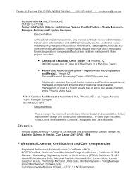 Free Resume Builder And Download Interior Design Project Manager