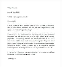 Project Proposal Cover Letters Business Proposal Cover Letter Business Plan Cover Letter Suitable