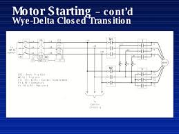 fire pump motor starting motor starting cont d wye delta closed transition