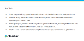 Loan Against Mutual Fund How To Apply For Loan Against