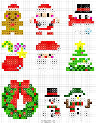 Christmas Perler Bead Patterns