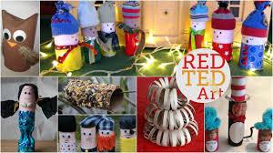 10 cardboard crafts aka tp roll diys red ted art