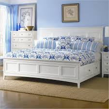 bed with drawers under. Contemporary Drawers A White Panel Bed With Four Underbed Storage Drawers A Crisp Finish   And Bed With Drawers Under D