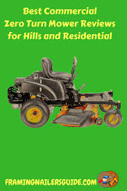 Commercial Zero Turn Mower Comparison Chart Latest Best Commercial Zero Turn Mower Reviews For Hills And