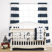 mix and match navy baby bedding crib