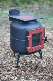 Gas Bottle Wood Burner Design Stoked Kiwi Bespoke Woodburning Stoves And Bow Top