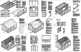 astounding house plans with material list naumi diy 8x8 shed info