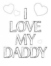 Small Picture coloring pages that say i love you daddy 240 blogginess embroidery