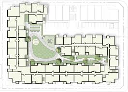 overhead site plan for rolland curtis gardens