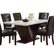 MarbleGraniteStone Top Dining Tables Cymax Stores Cool Granite Dining Room Tables And Chairs