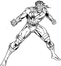 x men coloring pages throughout for