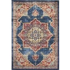 area rugs blue french country and yellow
