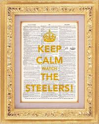 Keep Calm Hard To Do During A Nail Biting Steler Game