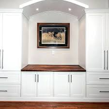 built in wall units for bedrooms custom built in counter top wall unit by design by