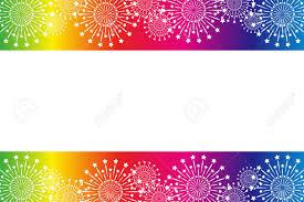 背景素材壁紙花火夏の祭スターマイン花火夜の空和風