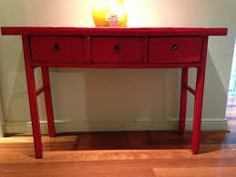 red hallway table. red gum timber hall modern style hallway table with vintage antique dresser entrance o