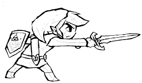 Link Coloring Pages Jumppartyorg
