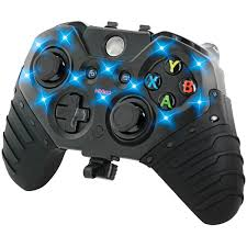 Led Light Xbox One Controller Nyko Light Grip For Xbox One Gaming Controller 86122 Walmart Com
