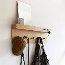 Coat Rack With Storage Space Beauteous 32 SpaceSaving Hallway Storage Solutions Hallway Storage Coat