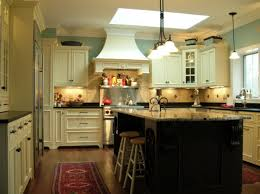 Island For Kitchen Black Top White Bottom Kitchen Island With Seating And Stove