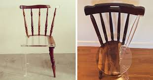 Image Translucent Concrete Artist fixes Broken Wood Furniture With Translucent Materials Bored Panda Artist fixes Broken Wood Furniture With Translucent Materials