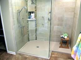 replace tiles in shower tiled shower with acrylic base replace shower pan with tile replace shower
