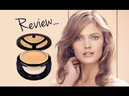 estee lauder invisible powder foundation review and demo