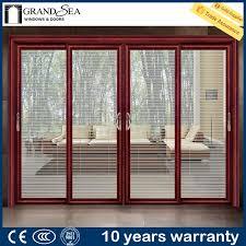 distinctive sliding patio door manufacturers guangzhou producer partition french style double glass patio