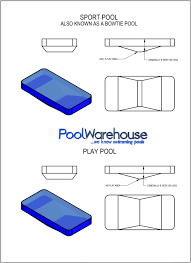 swimming pool kit bottom styles pool warehouse Inground Pool Diagram inground pool kit bottom inground pool diagram