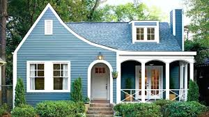 small house paint color. House Paint Colors The Best Exterior For Small Houses Soft Blue Color