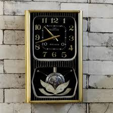 old master bim bam pendulum antique wall clock