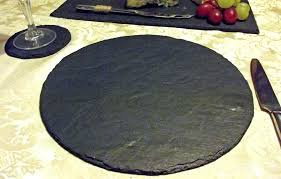 round natural slate bamboo bed bath and beyond placemats bamboo by mills round placemats target