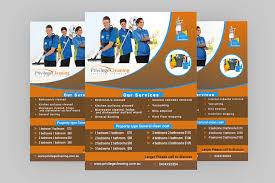 advertising a cleaning business entry 23 by forhad95s for design an a5 flyer for a cleaning