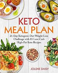Keto Meal Plan 21 Day Ketogenic Diet Weight Loss Challenge