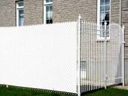 Installation of Chain Link Fence Privacy Slats Roof Fence Futons